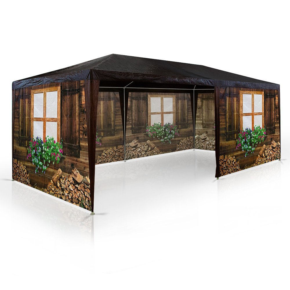 pavillons g nstig kaufen party pavillon almh tte von deuba. Black Bedroom Furniture Sets. Home Design Ideas