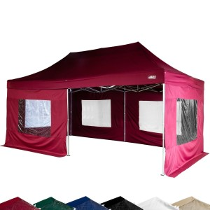 STILISTA® Faltpavillon 3x6 Meter inkl. Seitenteile,
