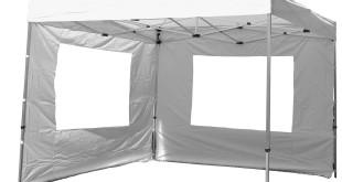 Faltpavillon wasserdicht Dilego mit Seitenteilen