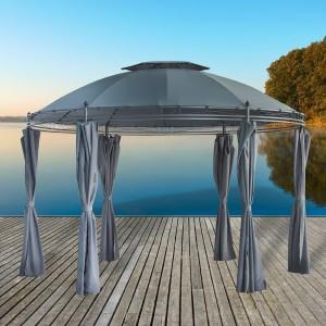 Gartenpavillon Metall - DS Handel