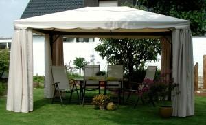 Pavillon kaufen - Gartenpavillon Metall Leco