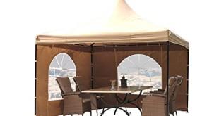 Pavillon 4×4 – Lounge Pavillon Sahara 4x4m Sand
