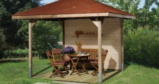 pavillons g nstig kaufen gartenpavillon holz weka paradies spar set. Black Bedroom Furniture Sets. Home Design Ideas