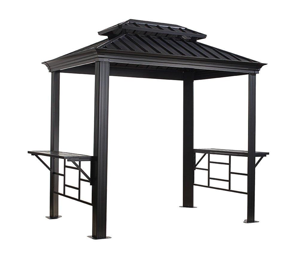 pavillons g nstig kaufen sojag aluminium grillpavillon. Black Bedroom Furniture Sets. Home Design Ideas