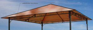 Pavillon Schutzhuelle Ersatzdach